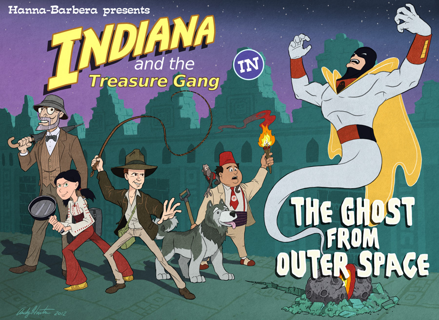 Indiana and the Treasure Gang
