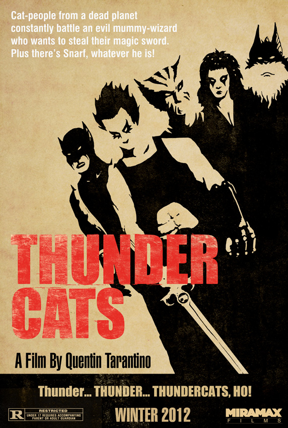 Reservoir Dogs / Thunder Cats poster